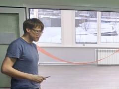 Открытие новой экспериментальной комнаты (оптического стола)