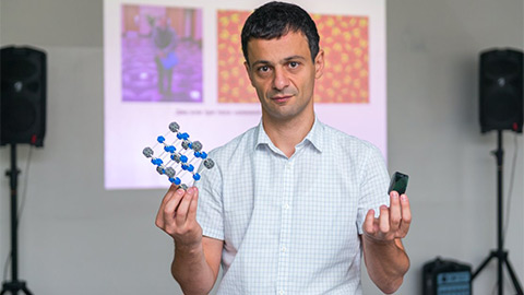 В СФУ пройдет лекция Артёма Оганова о химии и минералогии недр Земли в рамках Большого Лектория СФУ