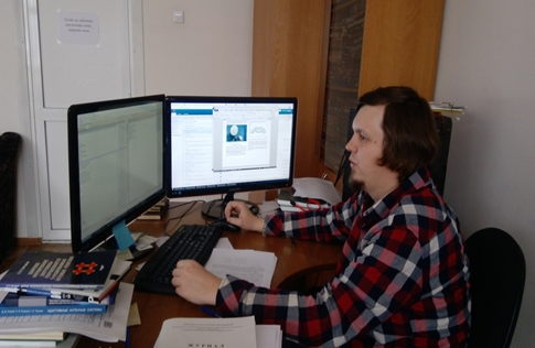 Поздравление Ерохина Алексея Александровича с успешной защитой кандидатской диссертации